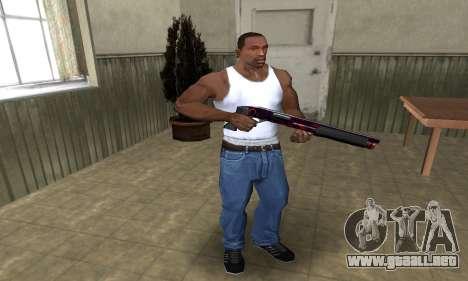 Redl Shotgun para GTA San Andreas tercera pantalla