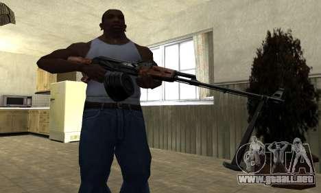 Viejo MAG para GTA San Andreas tercera pantalla