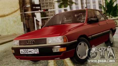 Audi 200 Quattro para GTA San Andreas