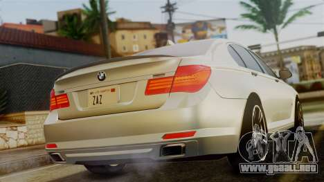 BMW 7 Series F02 2012 para GTA San Andreas left