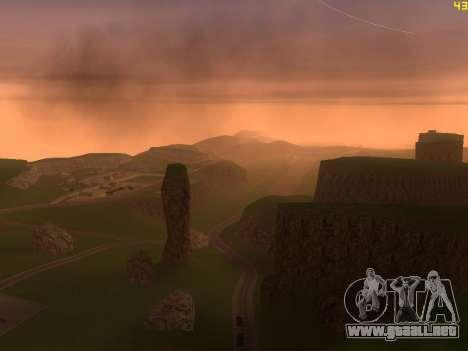 Verde del desierto de Las Venturas v2.0 para GTA San Andreas quinta pantalla