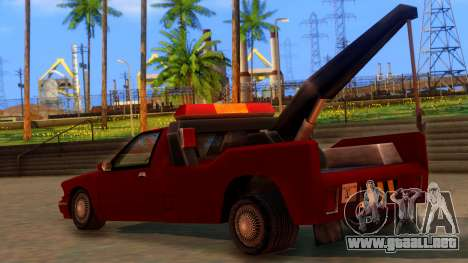 Premier Towtruck para GTA San Andreas left
