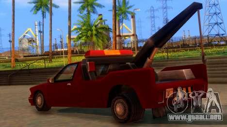 Premier Towtruck para GTA San Andreas left