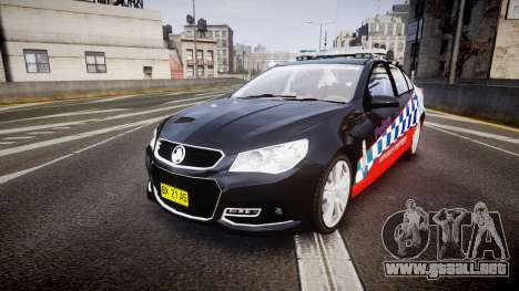 Holden VF Commodore SS Highway Patrol [ELS] para GTA 4