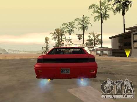 Eliminar el desenfoque al activar el nitro para GTA San Andreas tercera pantalla