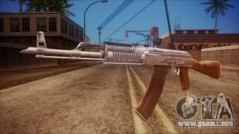 AK-47 v5 from Battlefield Hardline para GTA San Andreas
