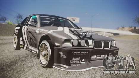 BMW M3 E36 GT-Shop para GTA San Andreas