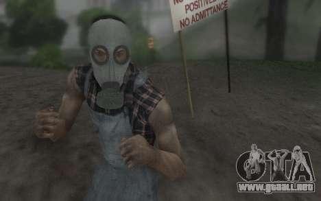 La máscara de Virtus para GTA San Andreas segunda pantalla