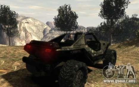 CONSEJO de seguridad M12 warthog de Halo Reach para GTA 4 left