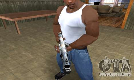 Sportive Shotgun para GTA San Andreas tercera pantalla