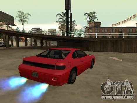 Eliminar el desenfoque al activar el nitro para GTA San Andreas segunda pantalla