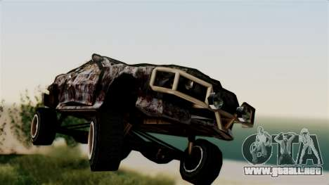 Post-apocalyptic Buffalo para GTA San Andreas