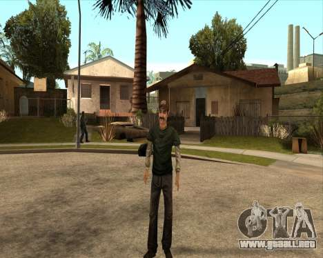 Kenny from Walking Dead para GTA San Andreas tercera pantalla