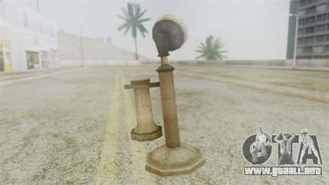 Red Dead Redemption Cell Phone para GTA San Andreas segunda pantalla