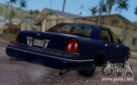 Ford Crown Victoria Civillian para GTA San Andreas left