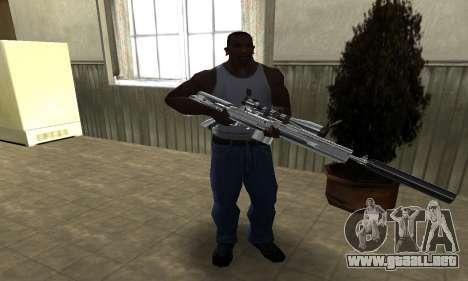 Original Sniper Rifle para GTA San Andreas tercera pantalla
