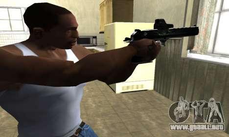 Blue Deagle para GTA San Andreas segunda pantalla