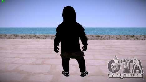 Black Guy para GTA San Andreas sucesivamente de pantalla