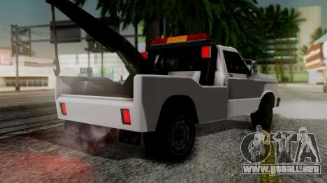 Towtruck New Edition para GTA San Andreas left