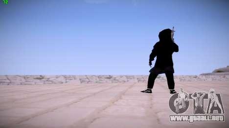 Black Guy para GTA San Andreas segunda pantalla