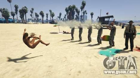 GTA 5 Firing Squad cuarto captura de pantalla