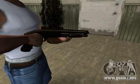 Leopard Shotgun para GTA San Andreas segunda pantalla