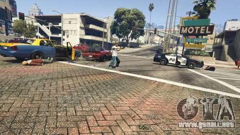 GTA 5 Police Chase Random Event cuarto captura de pantalla