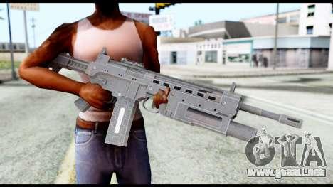 M4 from Resident Evil 6 para GTA San Andreas tercera pantalla