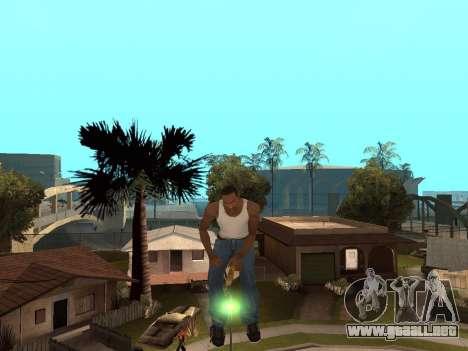 Escoba para GTA San Andreas segunda pantalla
