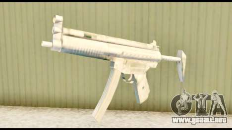 MP5 con de stock para GTA San Andreas