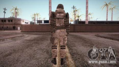 Armored Soldier para GTA San Andreas tercera pantalla