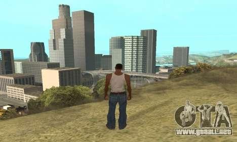 Aumentar el rango de vectorización para GTA San Andreas
