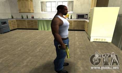 Sponge Bob Deagle para GTA San Andreas tercera pantalla