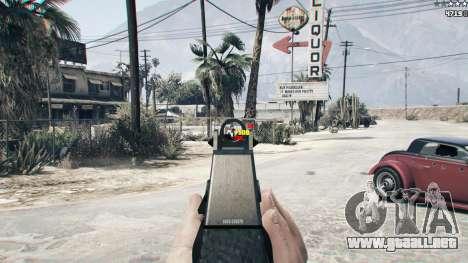 GTA 5 Combat HUD 1.0.2 segunda captura de pantalla