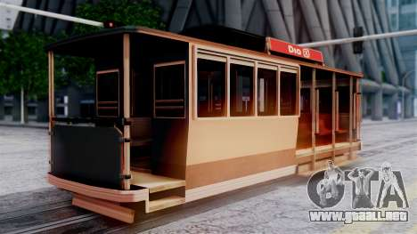 New Tram para GTA San Andreas left