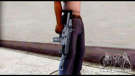 MK16 PDW Standart Quality v2 para GTA San Andreas tercera pantalla