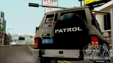 Nissan Patrol Y60 para GTA San Andreas left