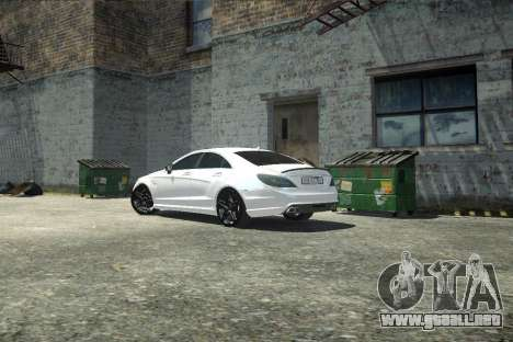 Mercedes-Benz CLS 63 AMG para GTA 4 vista interior
