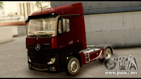 Mercedes-Benz Actros MP4 4x2 Standart Interior para GTA San Andreas