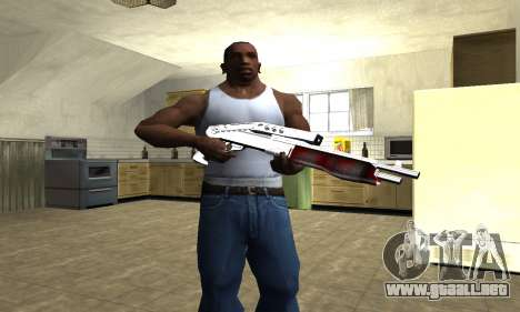 Blood Combat Shotgun para GTA San Andreas tercera pantalla