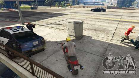 GTA 5 Police Chase Random Event