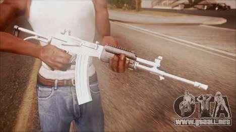 Galil AR v2 from Battlefield Hardline para GTA San Andreas tercera pantalla