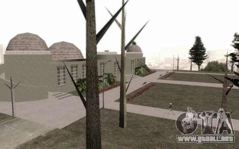Los árboles sin hojas para GTA San Andreas tercera pantalla