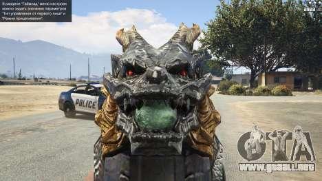 CFs Thompson Infernal Dragon para GTA 5
