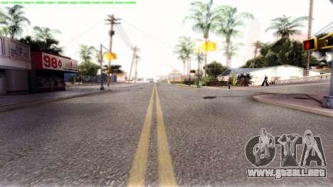 Dark ENB Series para GTA San Andreas quinta pantalla