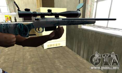 Mini Water Time Sniper Rifle para GTA San Andreas segunda pantalla