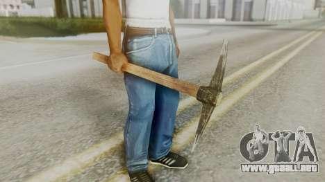 Red Dead Redemption Pick para GTA San Andreas segunda pantalla