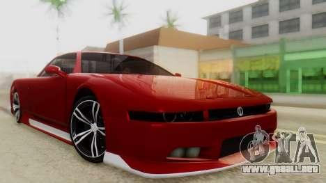 Infernus BMW Revolution with Plate para GTA San Andreas