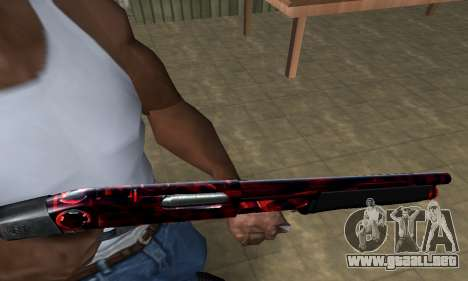 Redl Shotgun para GTA San Andreas