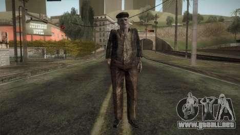 RE4 Don Diego without Hat para GTA San Andreas segunda pantalla